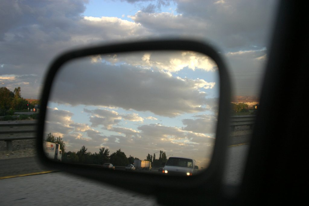view of the rearview