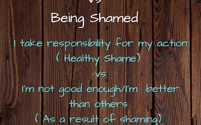The Difference Between Feeling Shame & Being Shamed