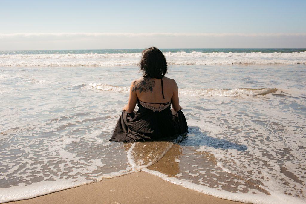 Lissa On The Beach